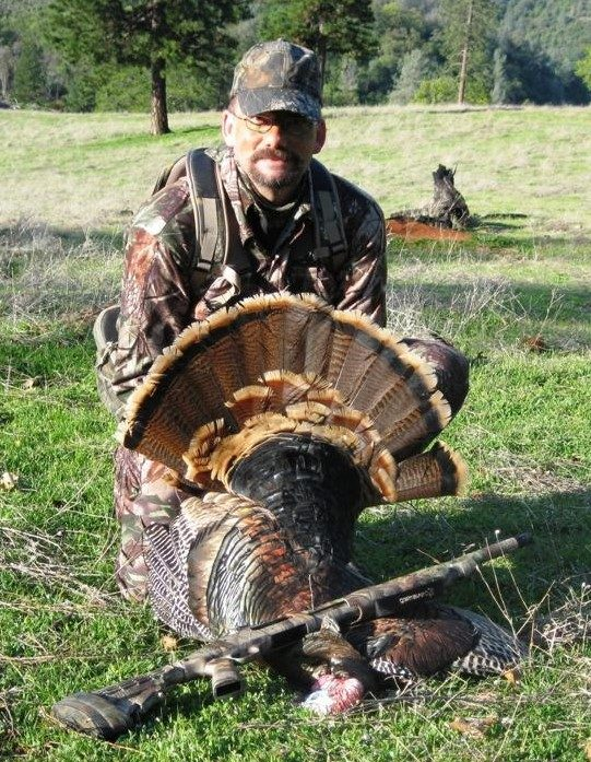 A California gobbler harvested by the author.