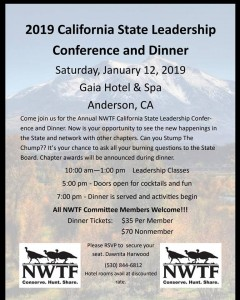 2019 California State Leadership Conference and Dinner